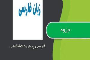 جزوه فارسی پیش دانشگاهی