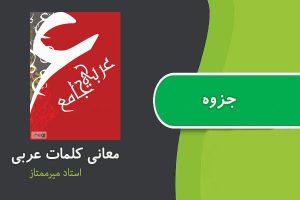 جزوه مهانی کلمات عربی استاد میرممتاز
