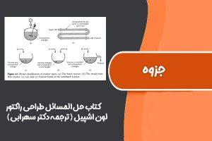 کتاب حل المسائل طراحی راکتور لون اشپیل (ترجمه دکتر سهرابی)